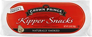 Crown Prince Kipper Snacks, 3.25 Ounce Cans (Pack of 6)