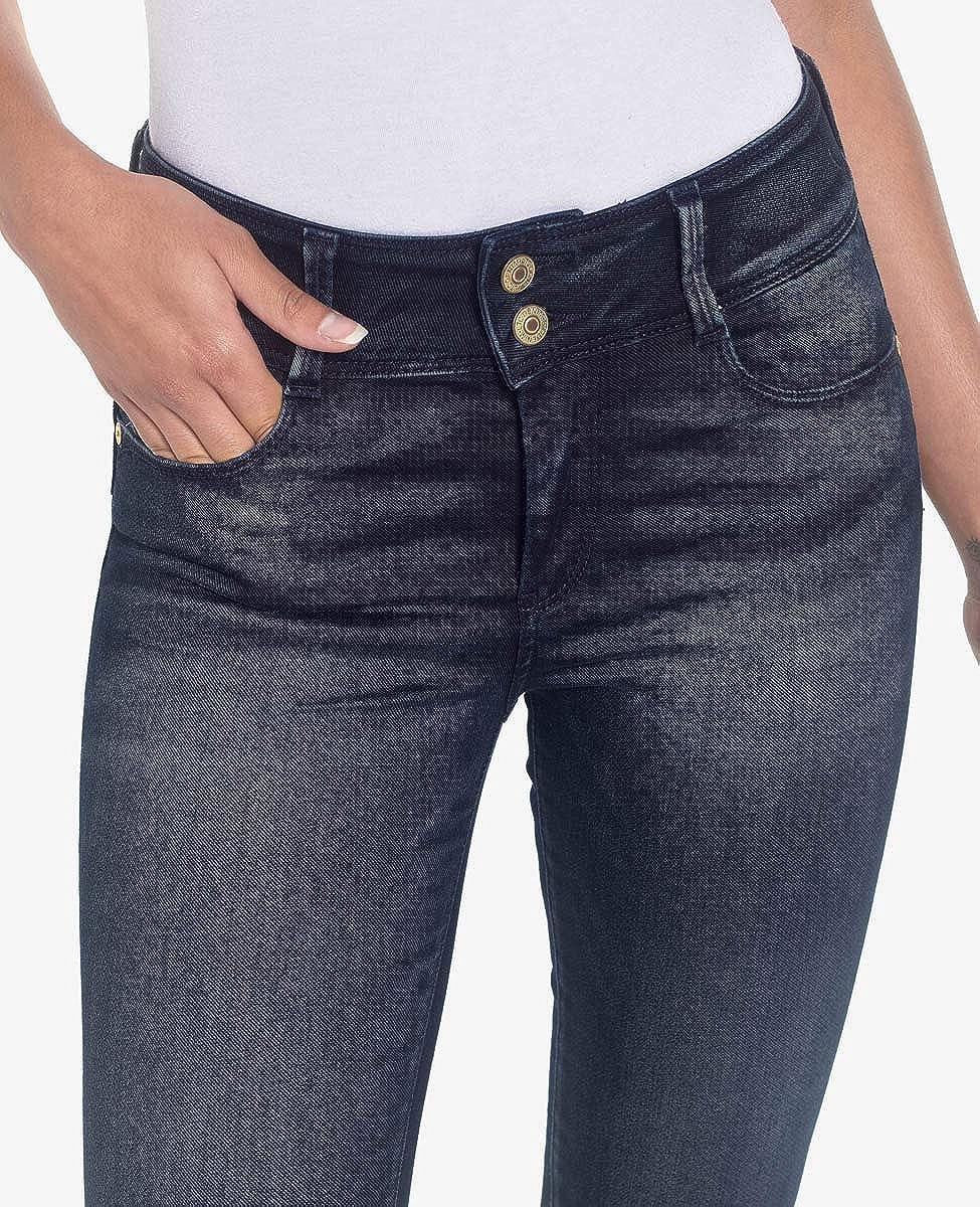 Le Temps des Cerises Jeans Ultra Pulp Skinny Bleu Noir Push up Blue / Black
