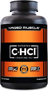 Creatine HCl Capsules, Kaged Muscle Creatine HCl Pills, Patented Creatine Hydrochloride Powder, Creatine Hydrochloride Pil...