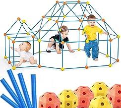 Lucky Doug 140 PCS Fort Building Kit Set for Kids, Construction Fort Builders Building STEM Toys for 3 4 5 6 Year Olds Kid...