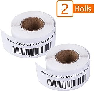 2 Roll Dymo LabelWriter Address Labels 30251, 1-1/8
