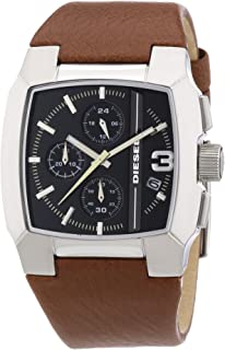 Chronograph with Date Leather Men's watch #DZ4276