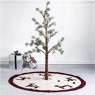 Glitzhome Christmas Tree Skirt 48