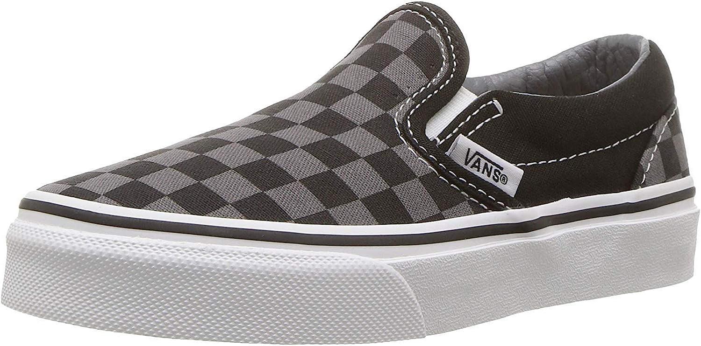 Vans Classic Slip-On (Toddler/Youth) Black/Black