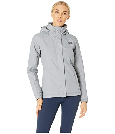 The North Face Resolve Insulated Jacket (Mid Grey/Mid Grey) Women