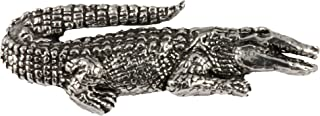 Alligator Reptile Pewter Lapel Pin, Brooch, Jewelry, A070