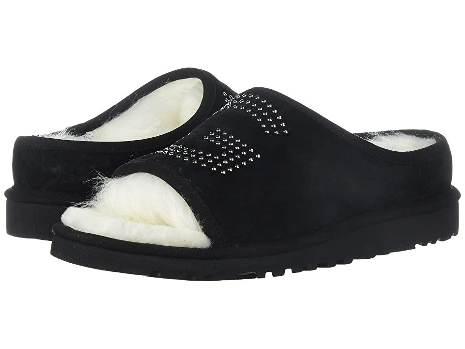 UGG UGG Slide Stud (Black) Women