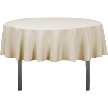 """Burgundy Tektrum 70/"""" Round Polyester Tablecloth Thick//Heavy Duty//Long Life"""