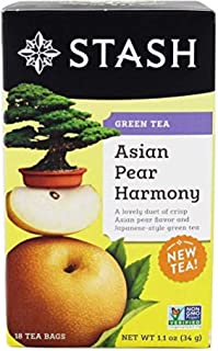 Asian Pear Harmony GreenTea Stash Tea 18 Bag