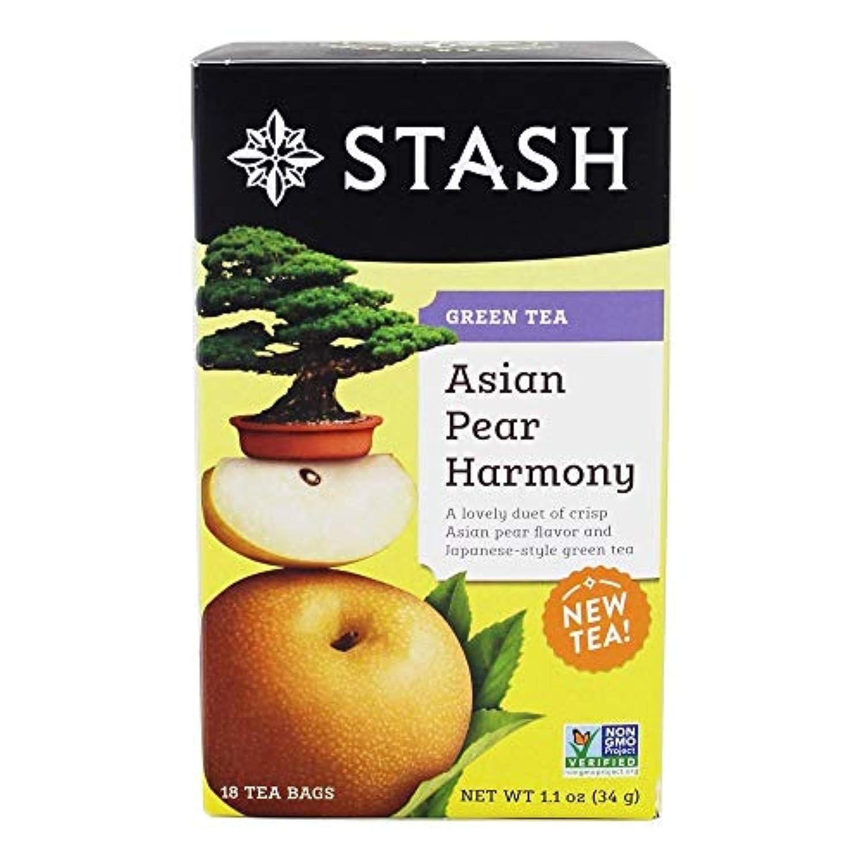 Max 50% OFF Asian Pear Harmony GreenTea Stash 18 Bag Max 44% OFF Tea
