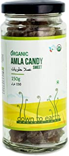 Down To Earth Organic Amla Candy; Nutritious; Healthy; Sweet Gooseberry Candy - 150 gm