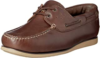 Hush Puppies Mens Taylor Boat Shoes