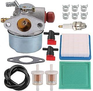 Allong 640025 Carburetor Air Filter Fuel Hose for Tecumseh 640017 640117B 640025C HOR OHV 5 5.5 6 HP Engine OHH55 OHH60 OH...