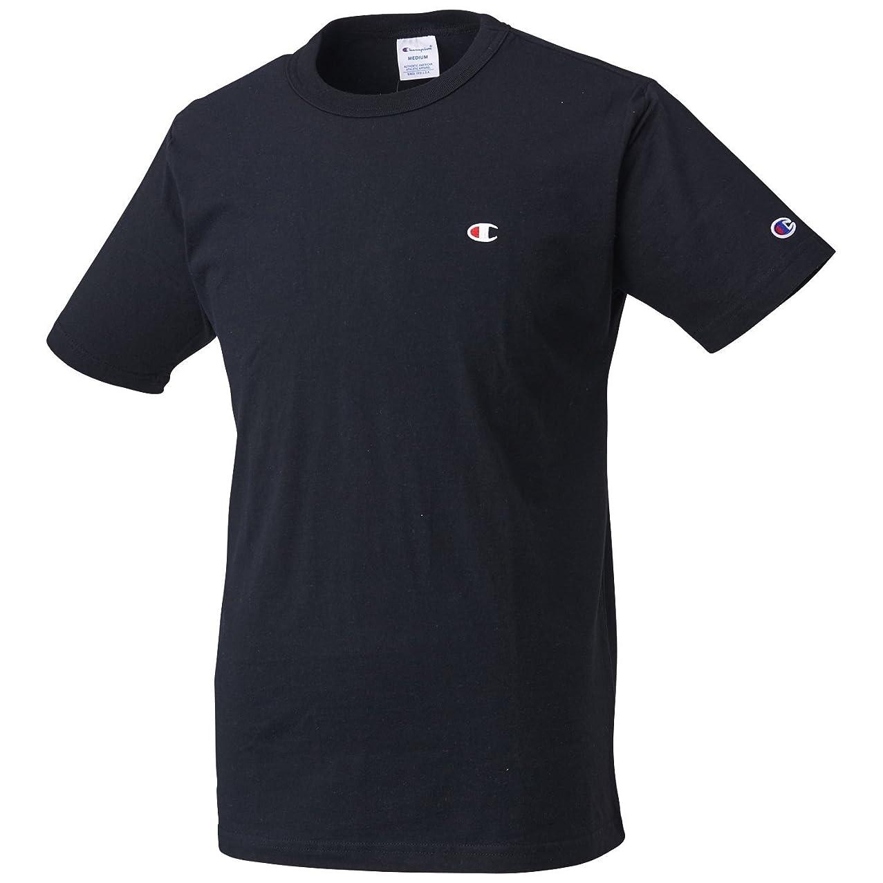 南東すり学習Championチャンピオン ベーシックライン無地 メンズ半袖Tシャツ C3-P300