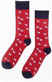 Rydale Men's Country Ankle Calf Socks Printed Bamboo Soft Socks