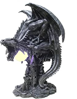 Feenomenn - Lámpara de dragón Tégavan (32 x 25 cm)