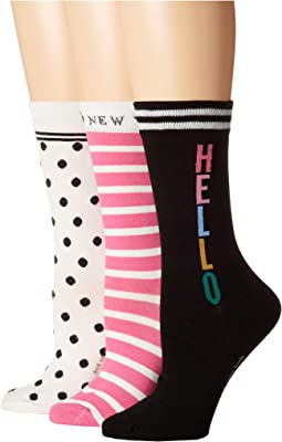 Hello 3-Pack Trouser Socks