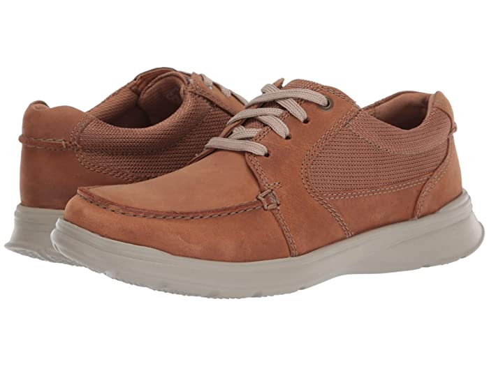 Clarks  Cotrell Lane (Tan Combi Leather) Mens Shoes