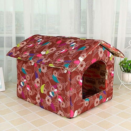 a precios asequibles WALSITK Creativo Creativo Creativo extraíble Lavable Descarga Mascota Canina Rellenos de algodón casa de Perro Suministros para Mascotas, 38x30x30cm  diseños exclusivos
