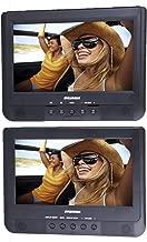 Proscan/Sylvania PDVD1037/SDVD1037 10.1-Inch Dual Screen Portable DVD Player (Renewed)