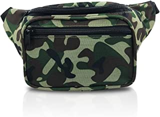 Woodland Camouflage Outdoor Tactical Fanny Pack (Camouflage Woodland)