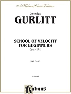 School of Velocity for Beginners, Op. 141