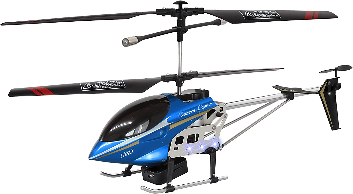 Camera Copter (Blau) - RC Helicopter