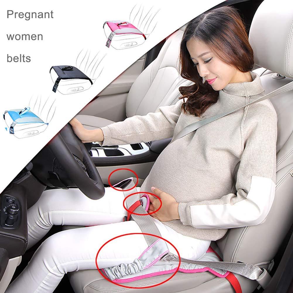 ANDER Pregnancy Belt Blue Maternity Belt Car Seat Safety Driving Car Mmust Haves Car Belt Soft Cushion Pad Protection Strap
