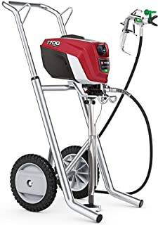Titan ControlMax 1700 Pro 580006 w/Cart High Efficiency Airless Paint Sprayer, HEA technology decreases overspray by up to...