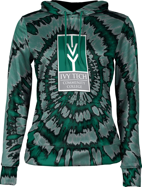 ProSphere Ivy Tech Community College of Indiana Girls' Pullover Hoodie, School Spirit Sweatshirt (Tie Dye)