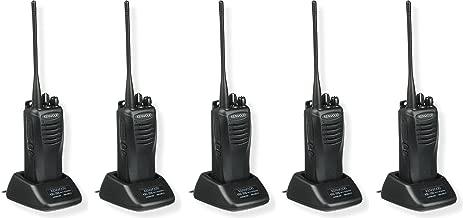 Kenwood TK-3402U16P ProTalk 5 Watt Two-Way Radio, UHF, 16 Channels, Black Color, 5-Pack