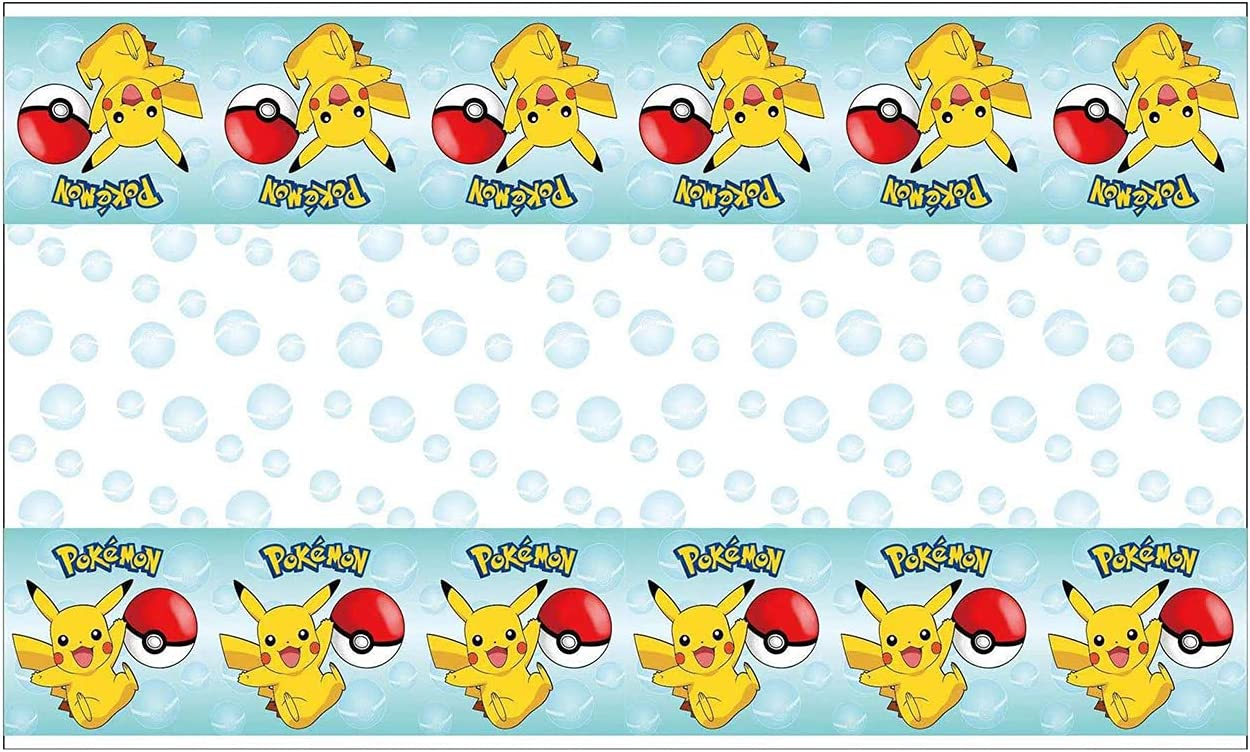 Topics on TV Cartoon Electric Pet Party Tablecloth Game Video Birthday Max 44% OFF Table