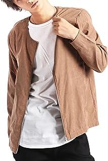 (バレッタ) Valletta メンズ アンサンブルセット ノーカラージップジャケット ロング丈カットソー Tシャツ [メンズ]