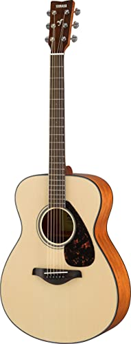 YAMAHA FS800 Small Body Solid Top Acoustic Guitar, Natural