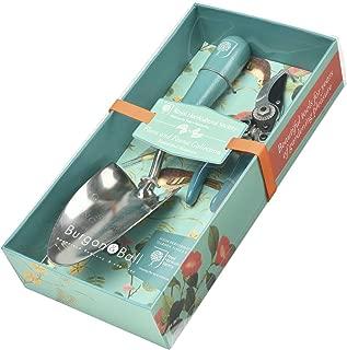 Burgon & Ball Garden Trowel & Pocket Secateurs Pruner Set in Flora & Fauna Design   British RHS Gradening Tools Gift Set