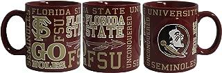 Boelter NCAA Florida State Seminoles 14oz Slogan Mug