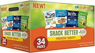Snack Better Premium Variety Pack (1 oz. ea., 34 ct.) - SCL