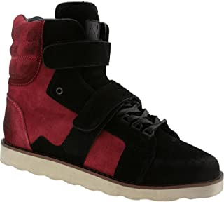Android Homme AH by Mens Sneakers Propulsion High Burgundy