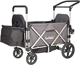 Larktale Caravan One-Hand Foldable All-Terrain Stroller Wagon, Mornington Grey