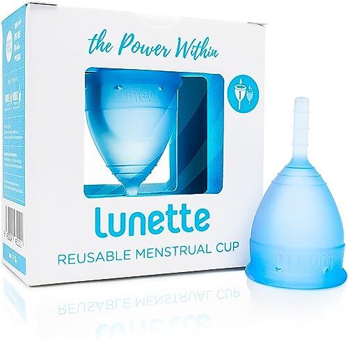 Lunette coupe menstruelle - Bleue - Taille 1 (EN Version)