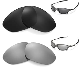 New Walleva Polarized Titanium + Black Lenses For Oakley X Metal XX