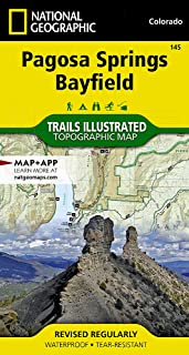 Pagosa Springs/bayfield: Trails Illustrated