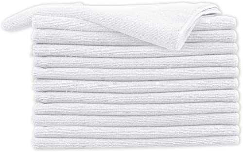 lowest Cartman Microfiber Cleaning Cloth, All Purpose Cleaning Towels, Thick and Large popular 15.7 2021 x 23.6 Inch, Pack of 12, White outlet online sale