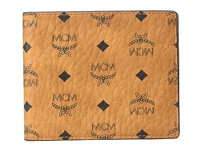 MCM Visetos Original Flap Wallet/Two-Fold Small