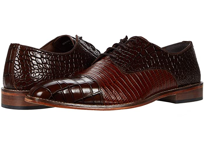 Mens Vintage Shoes, Boots | Retro Shoes & Boots Stacy Adams Talarico Leather Sole Cap Toe Oxford $99.95 AT vintagedancer.com