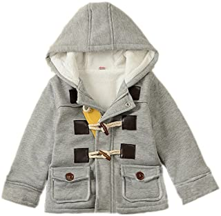 GETUBACK Baby Boy's Hooded Fleece Coat Winter Outwear