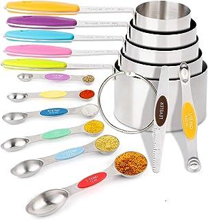 Set di 6 cucchiai dosatori da 7,5//15//60//85//125//250 ml Westmark 30582270 in polipropilene colore: Multicolore