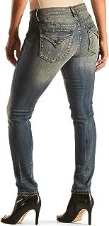 Women's Basic Flap Pocket Boot Cut Denim Jean