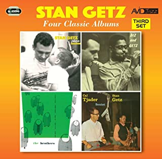 4 Classic Albums Stan Getz Plays / Diz And Getz / Brothers / Cal Tjader - Stan Getz Sextet