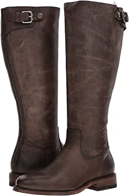 Frye - Jayden Buckle Back Zip Wide Calf